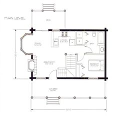 Small Log Cabin Floor Plans log home while saving your