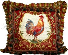 rooster pillow - Google Search
