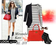 """""""Look for less Miranda Kerr"""" by mitzijani on Polyvore"""
