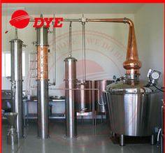 China 800L Manual Alcohol Distiller Apparatus , Vodka Distillation Equipment supplier : DYE, Zhejiang , China.