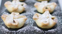 The easiest mince pies you& ever make, Good Food& cookery team has created fabulous festive Christmas treats that take just minutes to prepare Easy Mince Pies, Vegan Mince Pies, Mince Meat, Xmas Food, Christmas Cooking, Strudel, Bbc Good Food Recipes, Cooking Recipes, Cinnamon