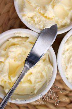 Redfly Creations: Homemade Butter Recipe (with your Kitchen Aid!)