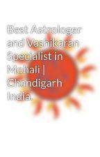 Best Astrologer and Vashikaran Specialist in Mohali   Chandigarh India. by astrologeraditya