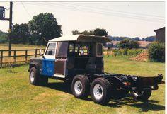 Land Rover Defender 6x6 mod for camper conversion