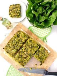 Tarte moelleuse aux poireaux et aux flocons d'avoine VEGAN (mi tarte, mi gâteau salé, mi pizza)