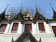 Thailand here.: โลหะปราสาท (วัดราชนัดดา) กรุงเทพ Loha Prasat Metal...