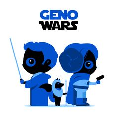 """""""May the Blue be with you""""  by Genosio"""