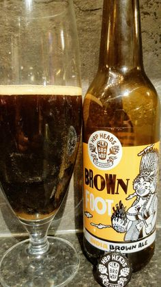 Alebrowar Brown Foot India Brown Ale. Watch the video beer review here www.youtube.com/realaleguide #CraftBeer #RealAle #Ale #Beer #BeerPorn #AlebrowarBrownFoot #BrownFootIndiaBrownAle #BrownFoot #IndiaBrownAle #Alebrowar #PolishCraftBeer #PolishBeer