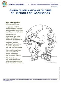 I Diritti dei bambini Cooperative Learning, Home Schooling, Sustainable Design, Interior Design Living Room, Design Trends, Color Schemes, Diy And Crafts, Italian Language, November