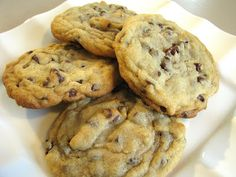 For the Love of Cooking » Chocolate Chip Cookies