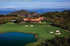 Peninsula Papagayo - Costa Rica  Caracol Clubhouse @18th Hole
