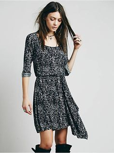 Free People Maise Mini Dress, $49.95