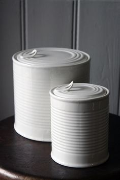 Image result for ceramic tin can