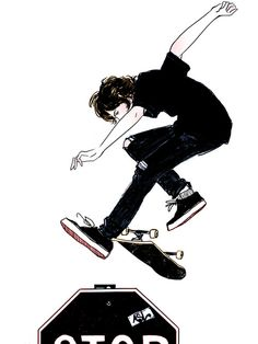 Amanda Lanzone art illustration skater
