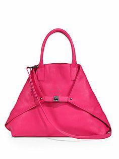 Akris Ai Medium Top-Handle Bag