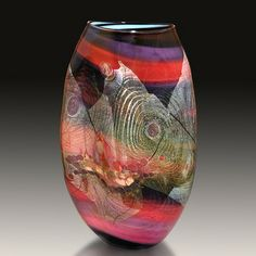 Chris Hawthorne loves flowing, fluid lines in his creations.