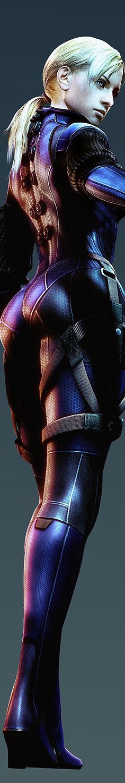 Futuristic Clothing, Future Girl, Jill Valentine - Resident Evil 5: