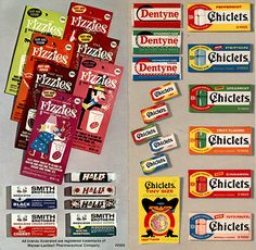 Chiclets - Tiny Size were a favorite!