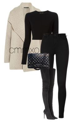 """""""Untitled #757"""" by cmmxo ❤ liked on Polyvore featuring James Perse, Proenza Schouler, Tamara Mellon and Chanel"""