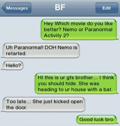Don't be hatin on nemo!
