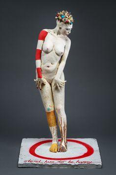 Nancy Kubale, figurative ceramic sculpture, Biography