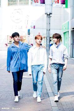 Mingyu, Joshua, and Minghao