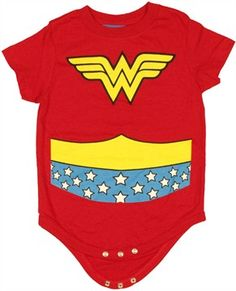 Wonder Woman Onesie -- The cool princess!