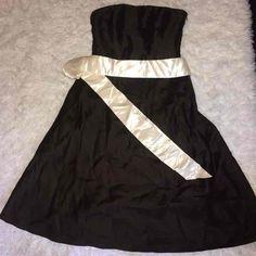 Ann Taylor Strapless Silk Dress. Size 2! - Mercari: Anyone can buy & sell