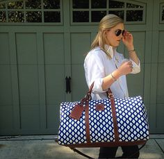 A stylish weekend bag is an absolute must-have!   www.barringtongifts.com