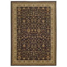 """nice Tommy Bahama Voyage Charcoal / Gold Oriental Rug Rug Size: 9'10"""" x 12'10"""""""