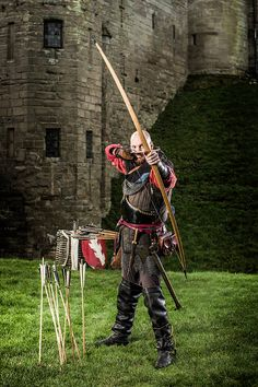 Archer at Warwick Castle
