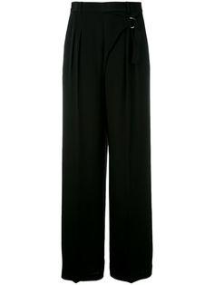 T BY ALEXANDER WANG Wrap-Effect Palazzo Pants. #tbyalexanderwang #cloth #pants