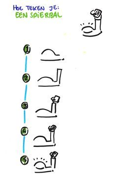 Hoe teken je... een spierbal? www.debetekenaar.nl/cursus