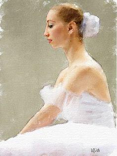 https://flic.kr/p/5YSyTH   #017 Ballerina   Digital watercolor