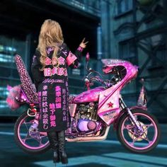 Japanese Streets, Japanese Street Fashion, Ganguro Girl, Gangster Girl, Custom Cycles, Moto Style, Gyaru, Teen Trends, Harajuku Fashion