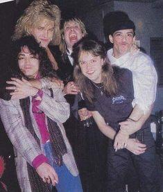 1985 metallica and ratt Jake e lee