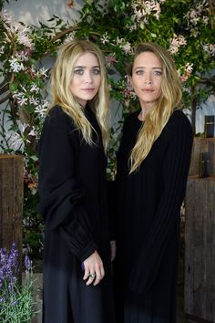Ashley and Mary-Kate at the Elizabeth and James studio in New York.
