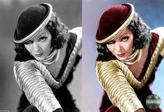 Lupe Vélez no filme Dinamite... e Nada Mais! (Strictly Dynamite, 1934) - Colorização - Colorizando