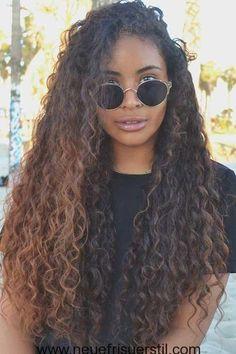#trend Lockige und Lange Frisuren für eine Neue Erscheinung #Neue Frisuren 2018#Haarmodelle#Friseur