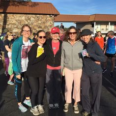 Some Saturday's you start by walking in a race with your beloved book club while carrying books!  And yes! I'm walking with my You are a Badass book! #reader #bookclub #walk #onlyineureka @megan_bogle_kirk
