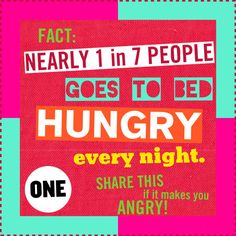 Give to food banks, regularly. Not just for Thanksgiving and Christmas. Also, give to the homeless. Every little bit helps out a hungry individual. Going To Bed Hungry, Poverty And Hunger, What Would Jesus Do, World Hunger, Food Security, Be Strong And Courageous, Food Bank, Hard Truth, Panel Quilts