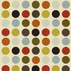 Great Spot 5 - Dekoracní látky puntíky - Dekostoffe gemustert