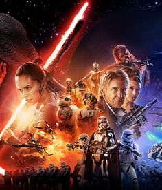 """Which """"The Force Awakens"""" Character Are You?  i got: Rey  You're a bit intense, mainly because your life hasn't been easy. You're very resourceful, and know how to take care of yourself."""