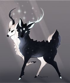 memories lie in starlit skiesYou can find Magical creatures and more on our website.memories lie in starlit skies Cute Fantasy Creatures, Mythical Creatures Art, Mythological Creatures, Magical Creatures, Mystical Creatures Drawings, Arte Furry, Furry Art, Creature Concept Art, Creature Design