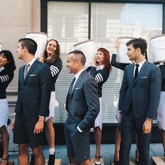 The Thom Browne team at Thom Browne New York