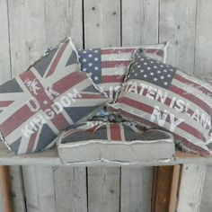 sierkussen engelse vlag, stijlvol sierkussen loungeset