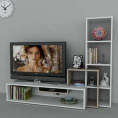 Dekorister Stab Meuble TV White/Cordoba - Achat / Vente meuble tv Dekorister Stab Meuble TV W - Cdiscount