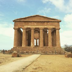 Valle dei templi, Agrigento, Sicilia.