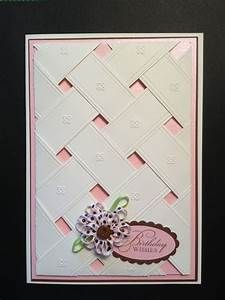 Cuttlebug Embossing folder - Anna Griffin; Stampin' Up ...