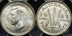 Australia 1943d threepence #coins #australiancoins Coins Worth Money, Coin Worth, Coin Collecting, Childhood Memories, Clocks, British, Notes, Australia, Stamp